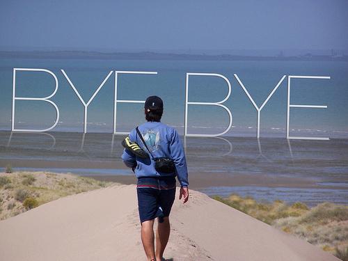 Farewell, Goodbye!