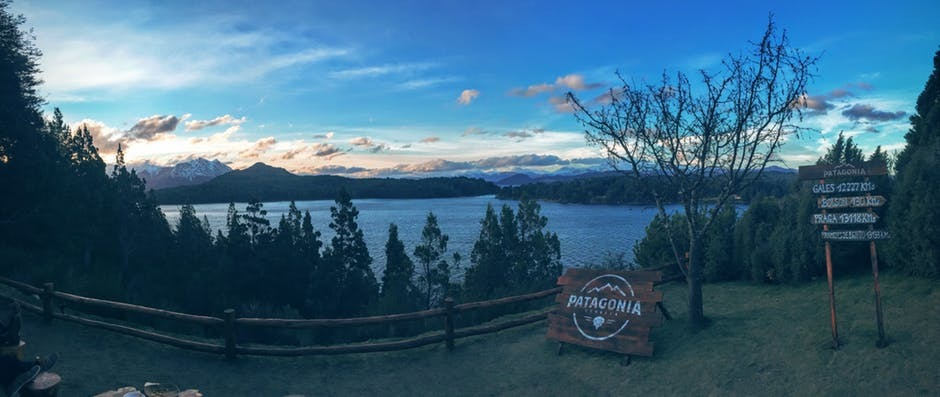 lake view in Chile