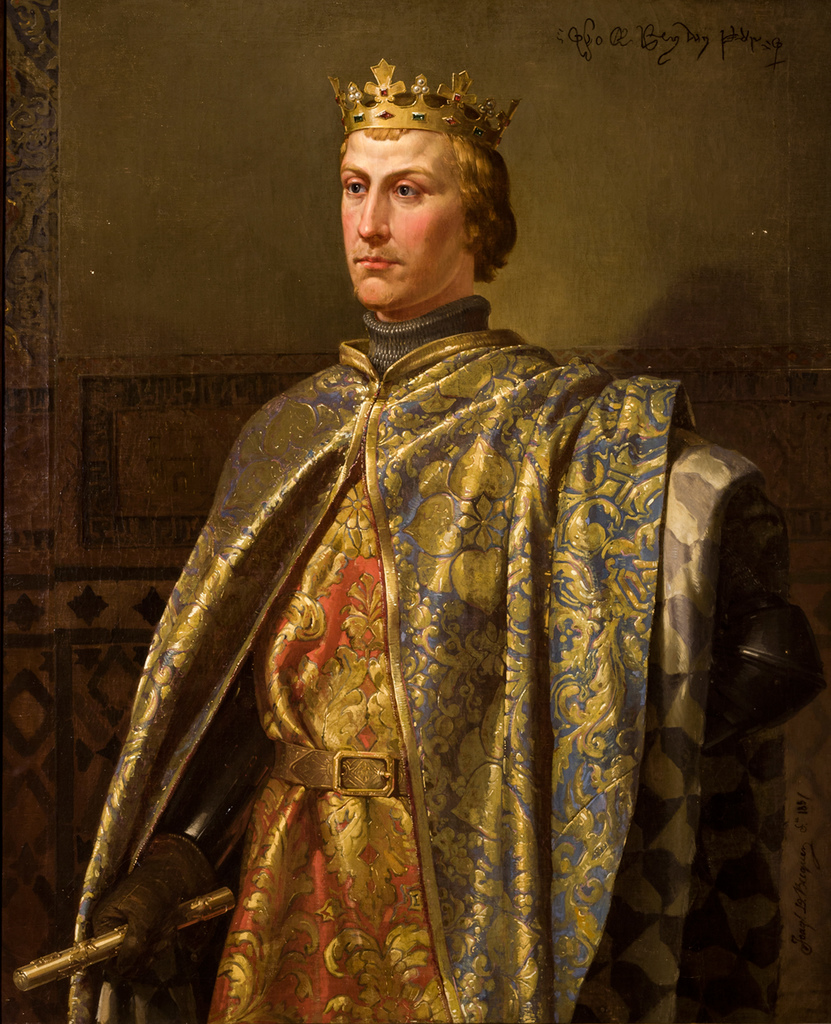 King Pedro of Castile Spainish Lisp