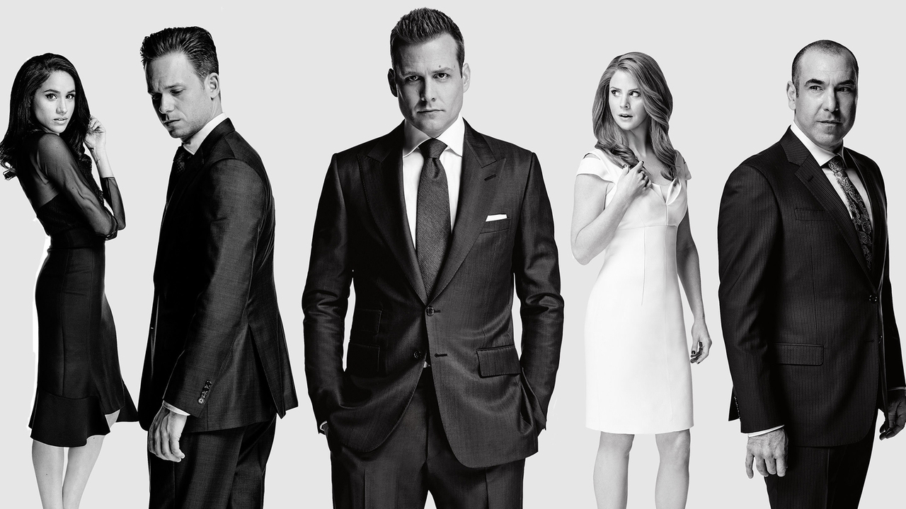 The Suits cast season 7 poster