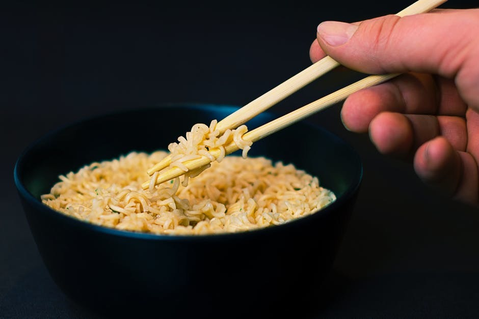 Eating Noodles? I don't know!