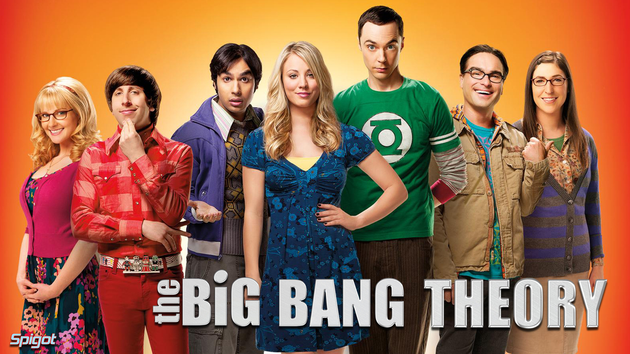 The Big Bang Theory cast poster