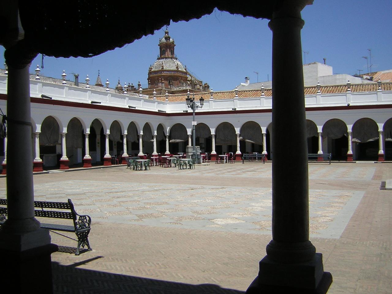 Plaza de Abastos Carmona, Spain