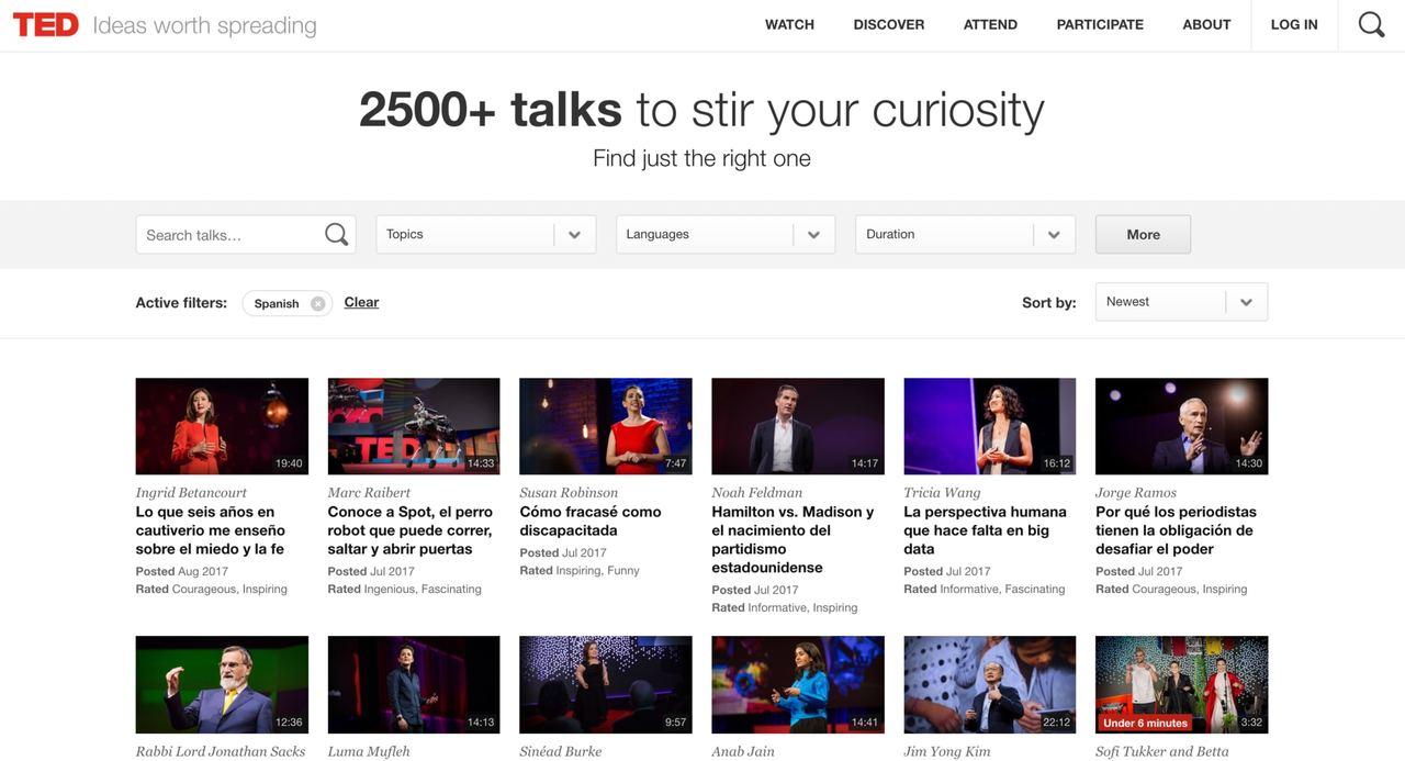 TED2017 Español