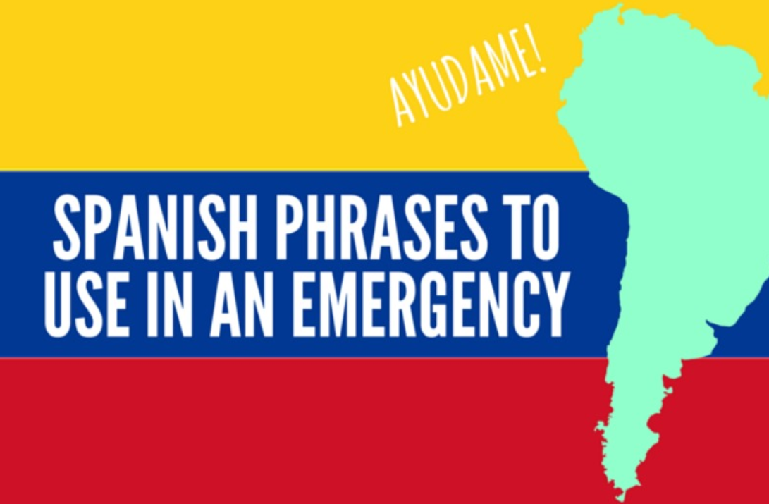 Spanish phrases to use in an emergency