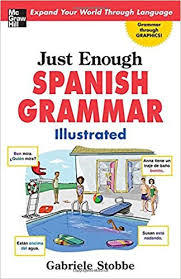 Just Enough Spanish Grammar Book Cover