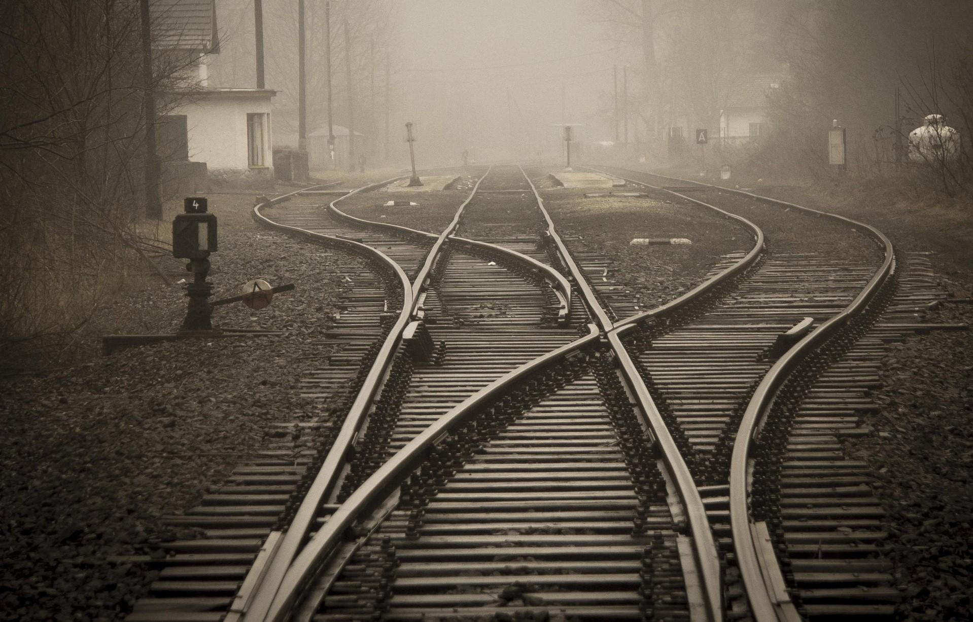 a dense railway network