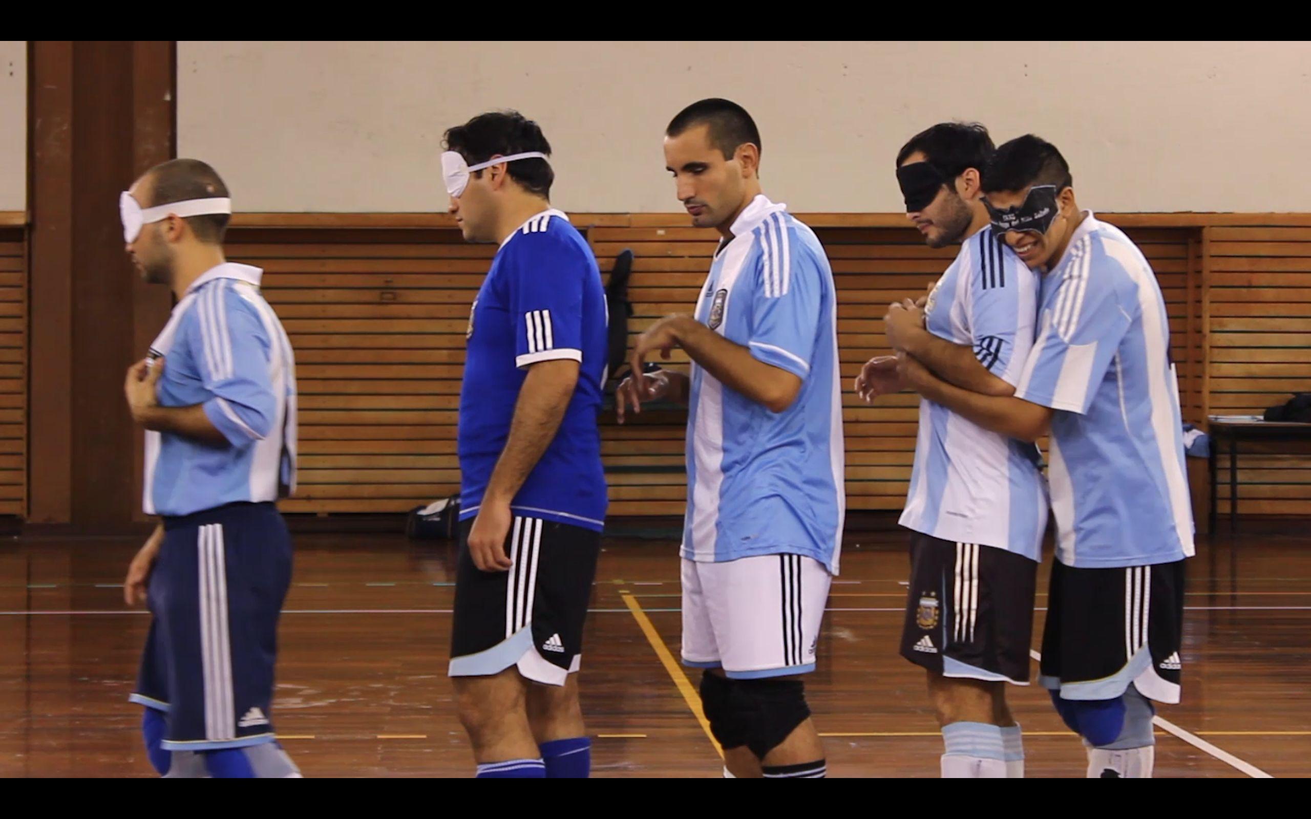 argentina blind futbol team