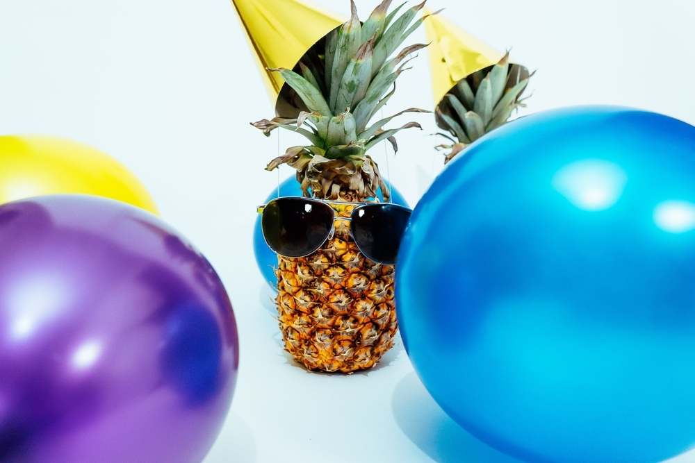 image one: pineapple party