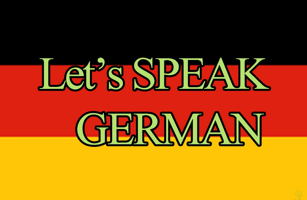 speak German