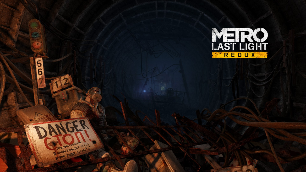 Metro Last Light Title Screen
