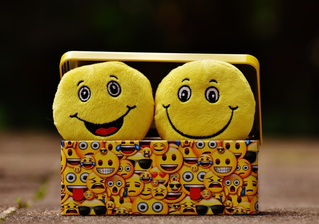 emoji throw pillows