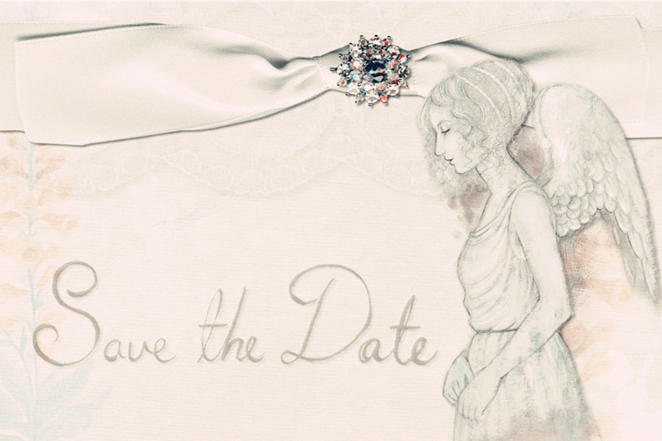 Romantic Comedy Movies - Wedding invitation