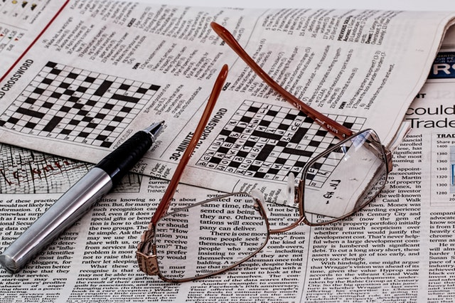newspaper crosswords