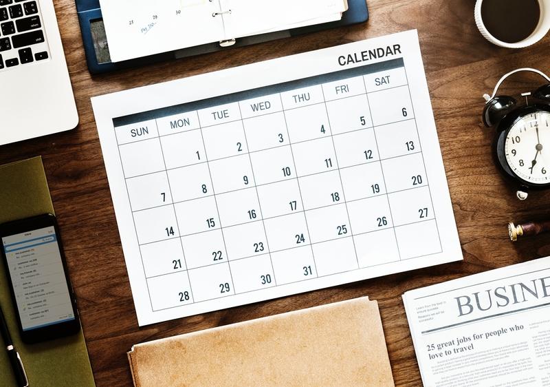 Check TOEFL dates.