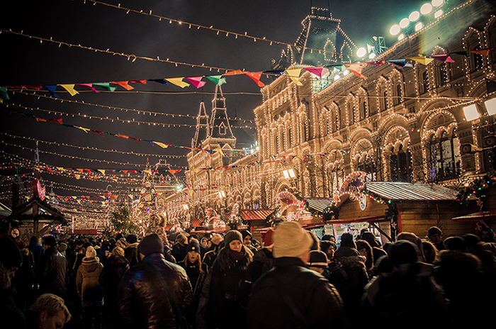 Moscow New Years