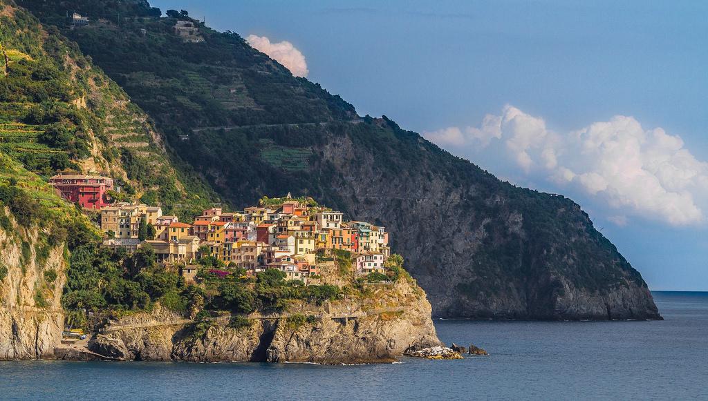 Corniglia, in the Cinque Terre in Italy