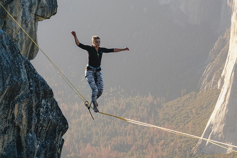 Confidence Tightrope Walk