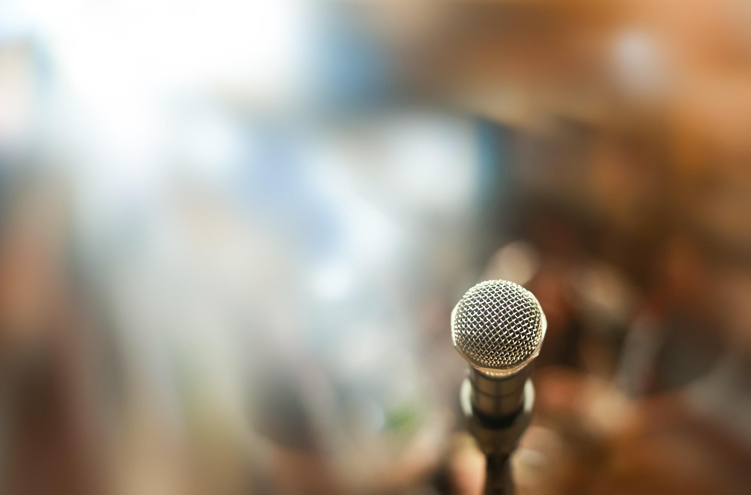 Start speaking