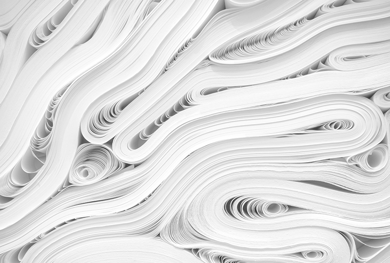 Spanish News Rolls of Paper Language Learners