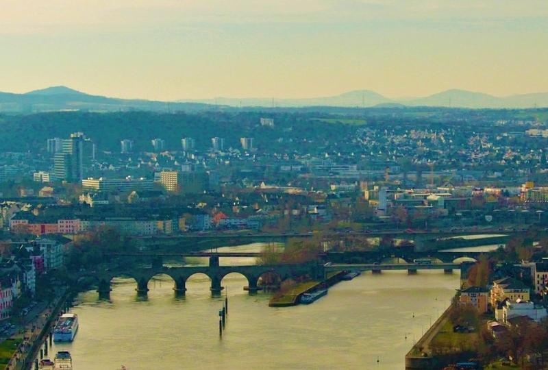 German city view