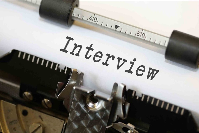 Interview on Typewriter