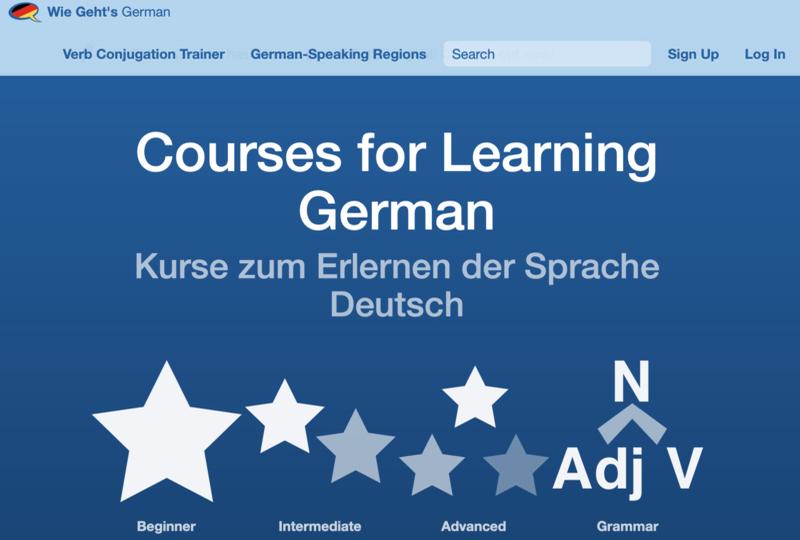 Wie Gehts German signup page