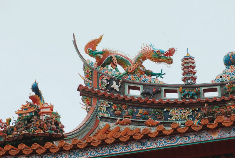 The Chinese Dragon is the most confident Zodiac animal