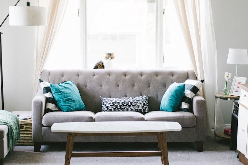 Couch In A Nice Home