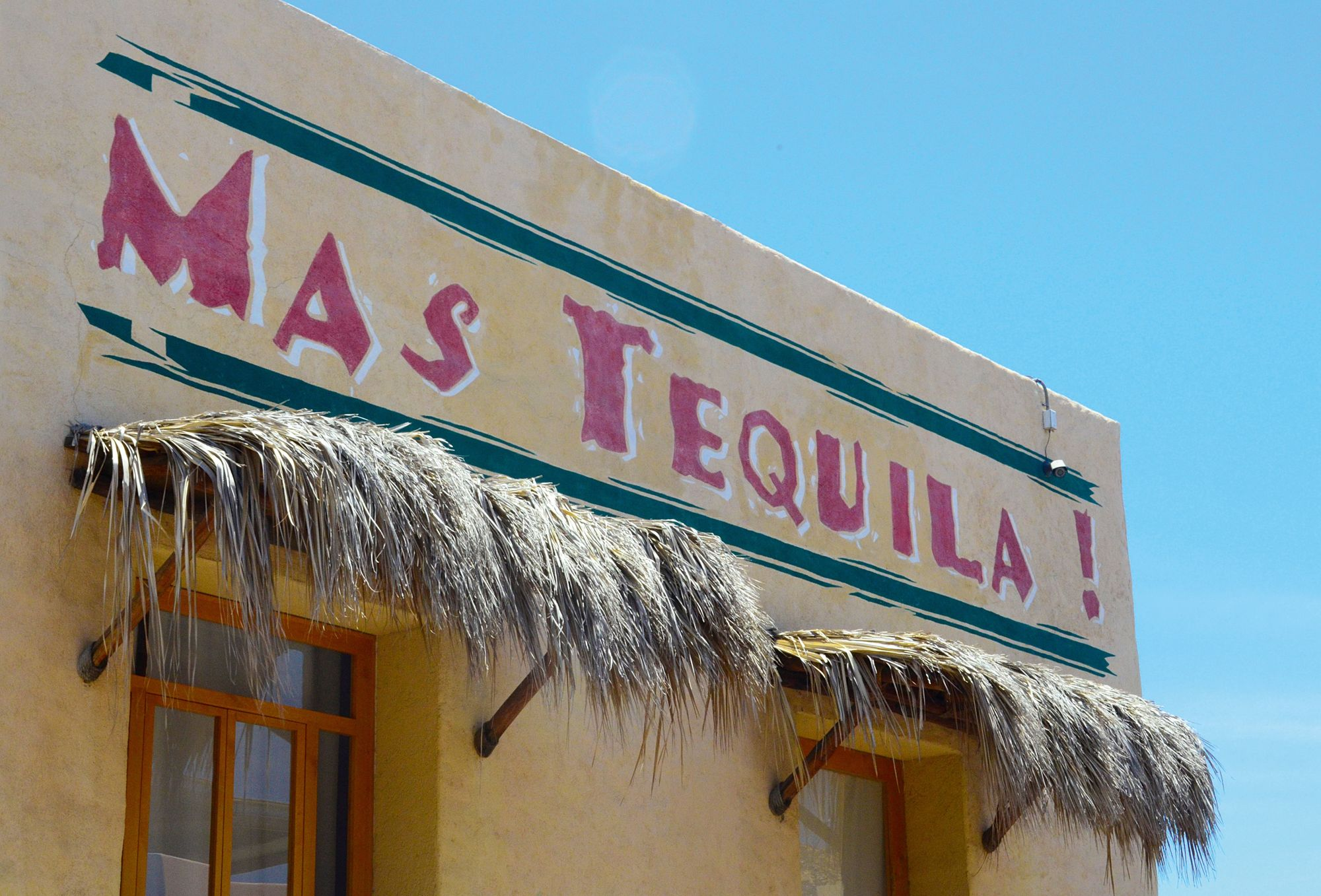 A Mexican tequila bar