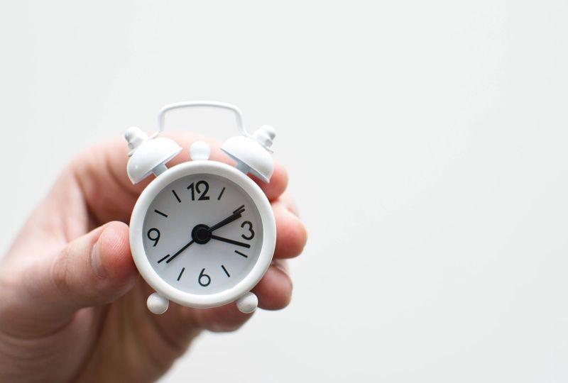 A miniture clock