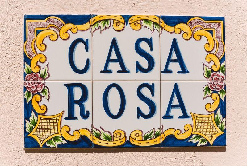 Portuguese Words Casa Rosa