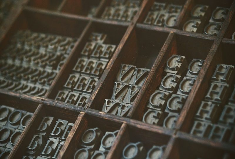 Boxes of type