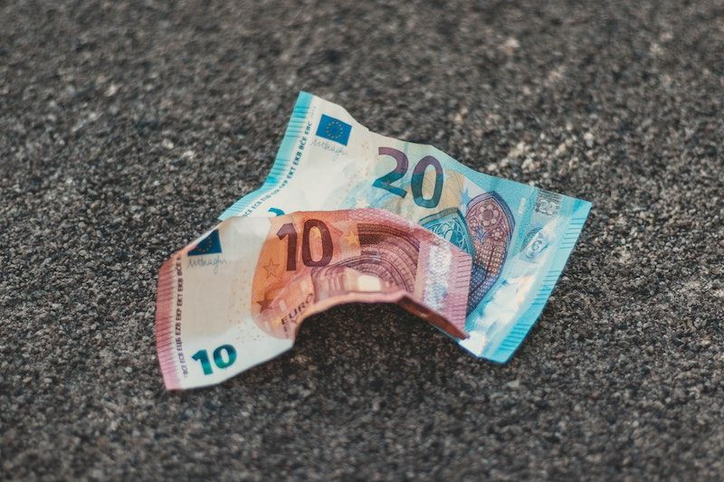 Crumpled Euros