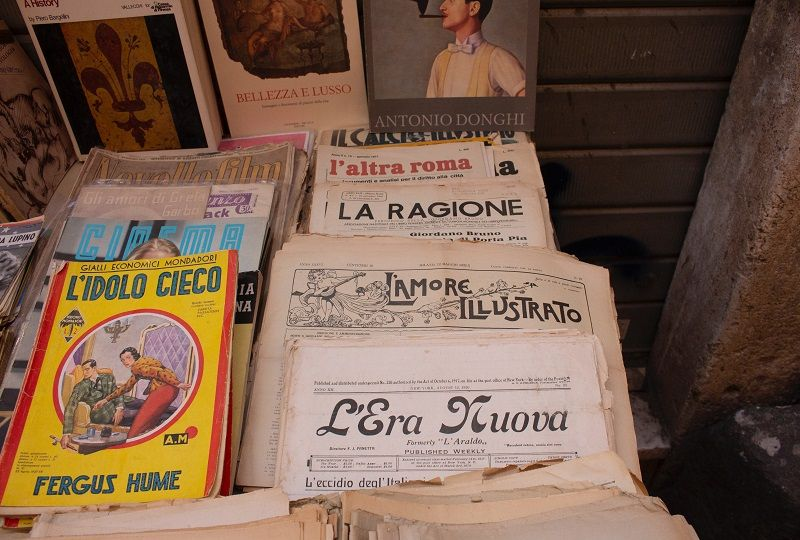 Some books in Italian