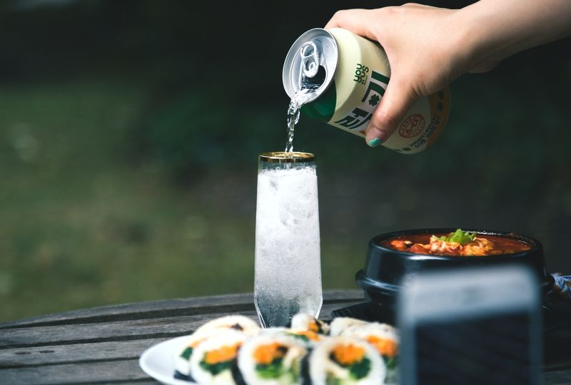 South Korean food and drink