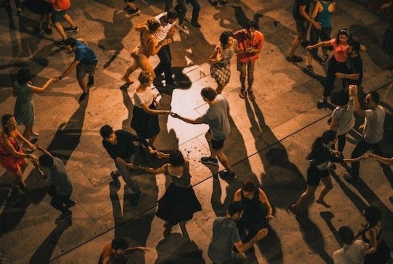 people dance to Brazilian songs