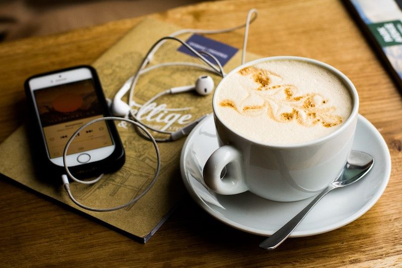 Coffee and Phone