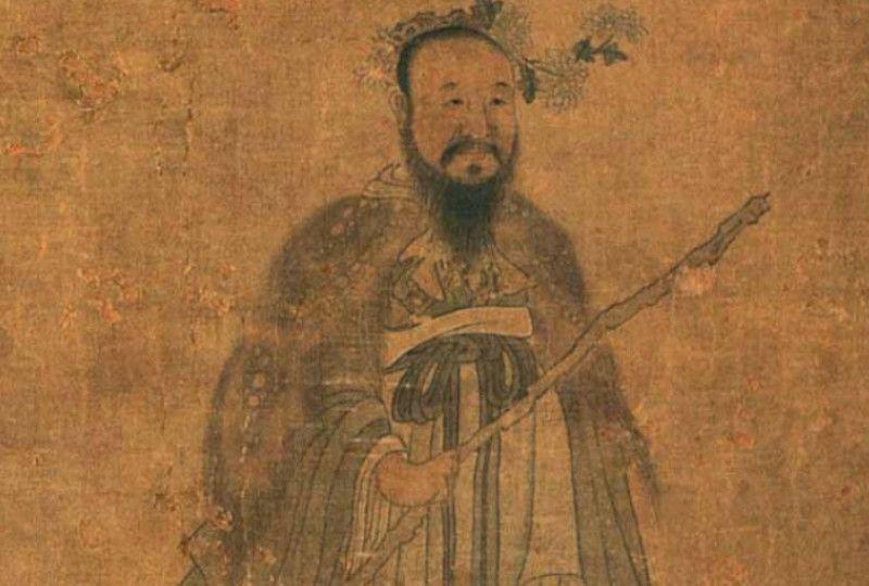 Portrait of Qu Yuan